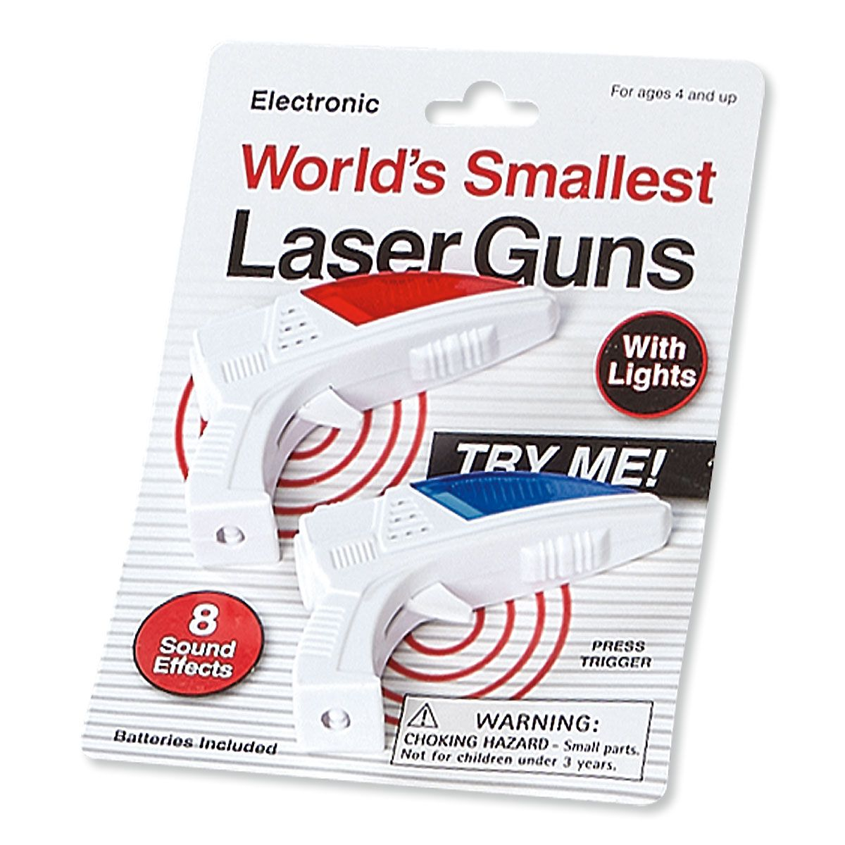 World's Smallest Laser Guns