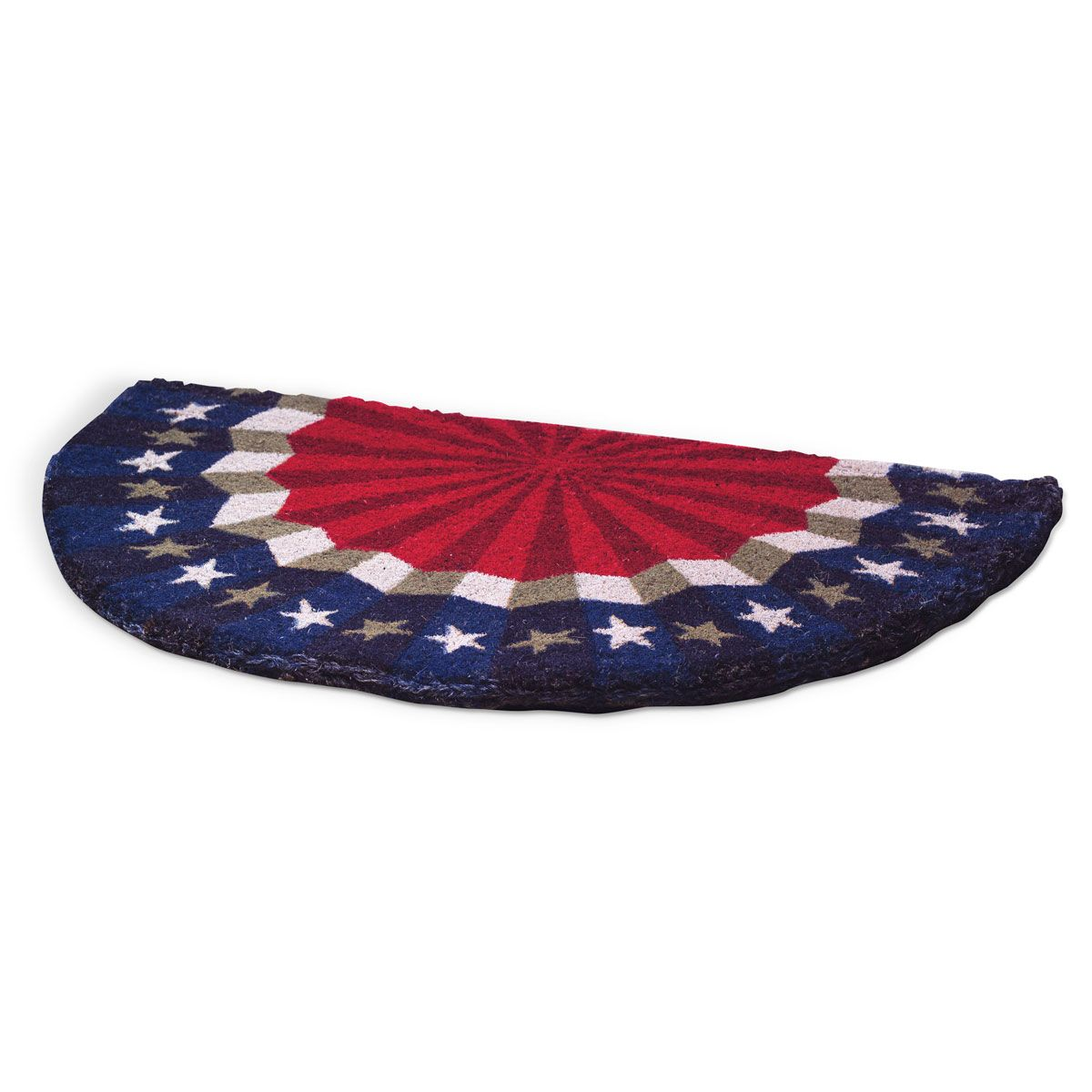 Bunting Patriotic Personalized Doormat