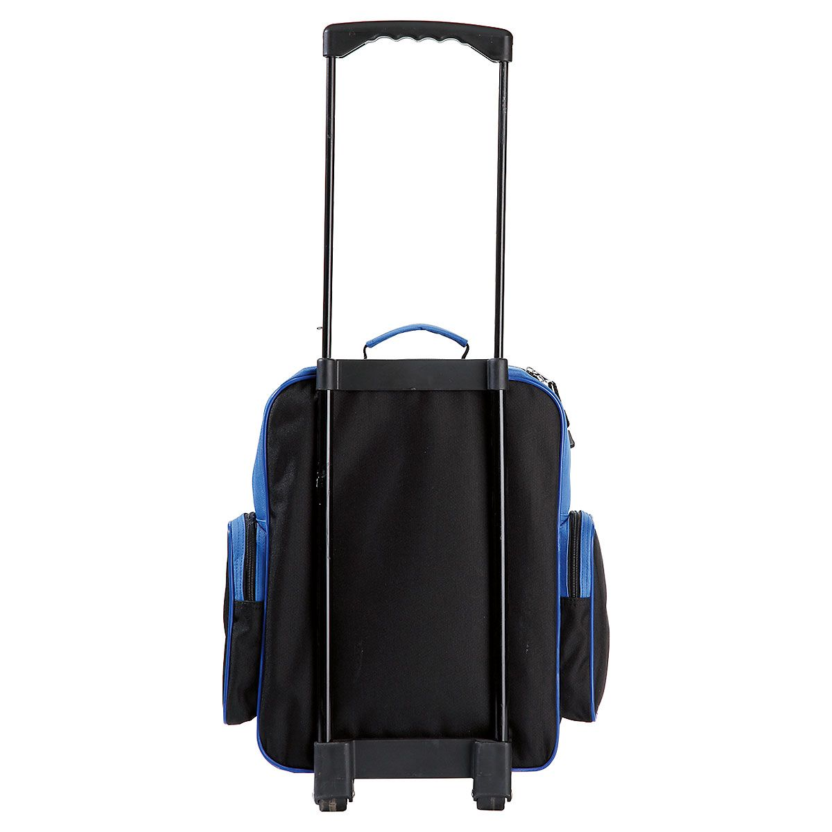 "Blue and Black 18"" Rolling Luggage"