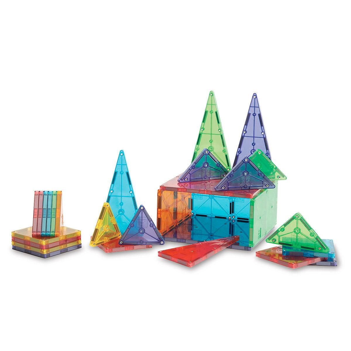 Magna Tiles® Clear Colors