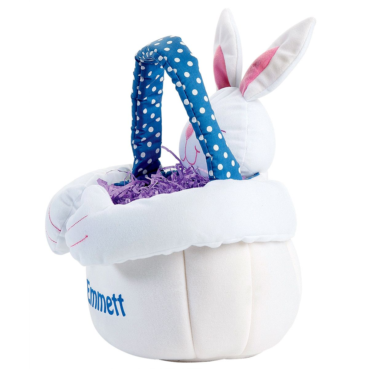 """Personalized 13"""" Plush Easter Bunny Totes"""