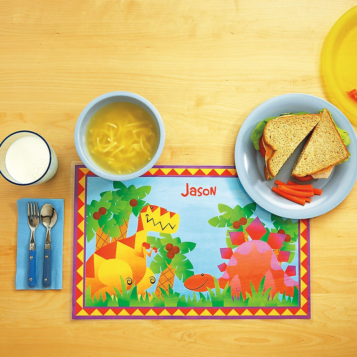 Kids' Dinosaur Placemat