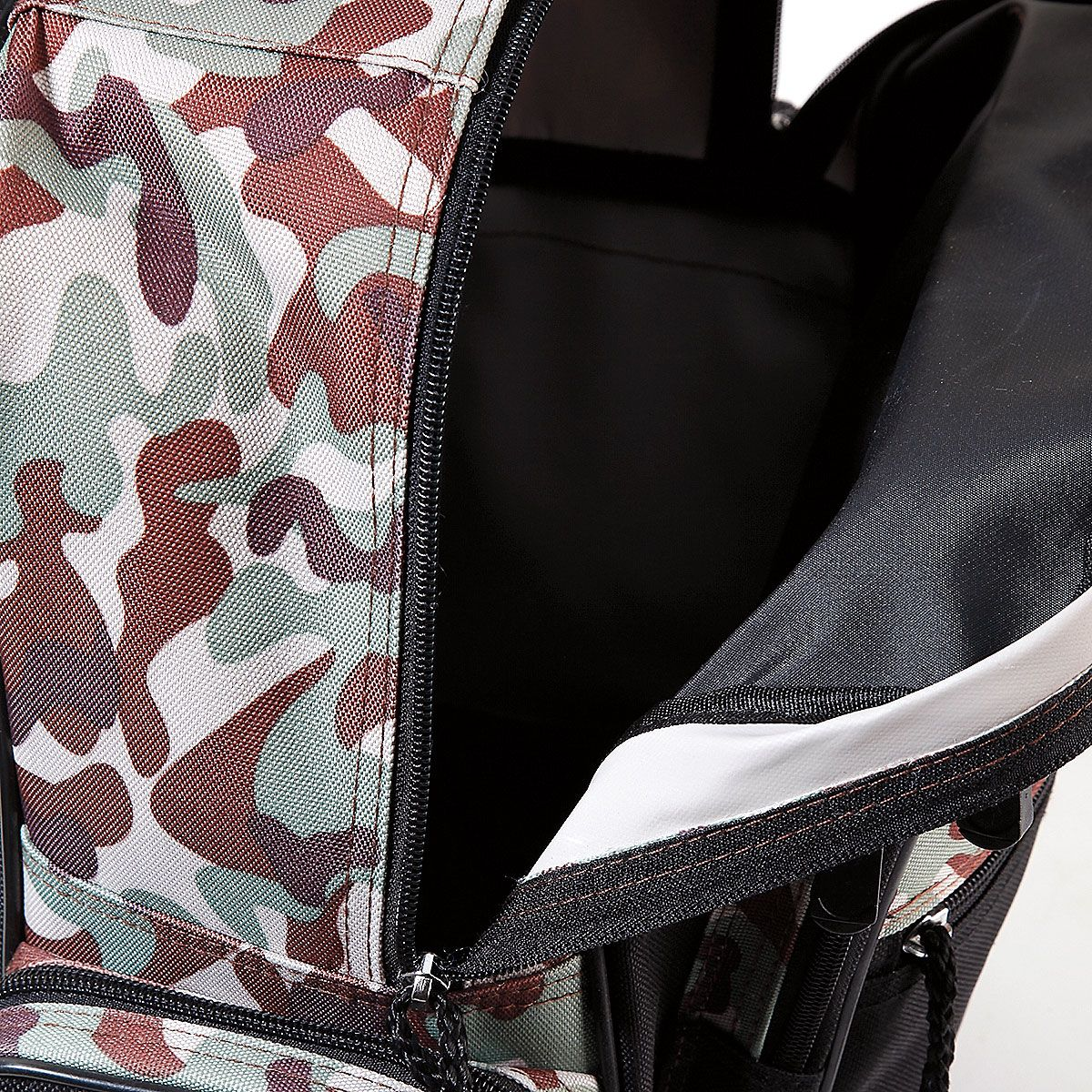 Black Camo Personalized Rolling Luggage