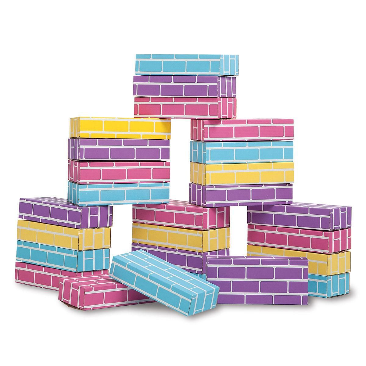 Pastel Building Bricks
