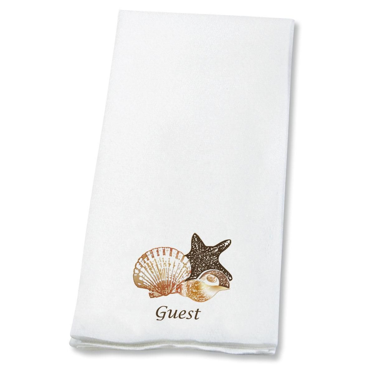 Guest Seashells  Disposable Hand Towels
