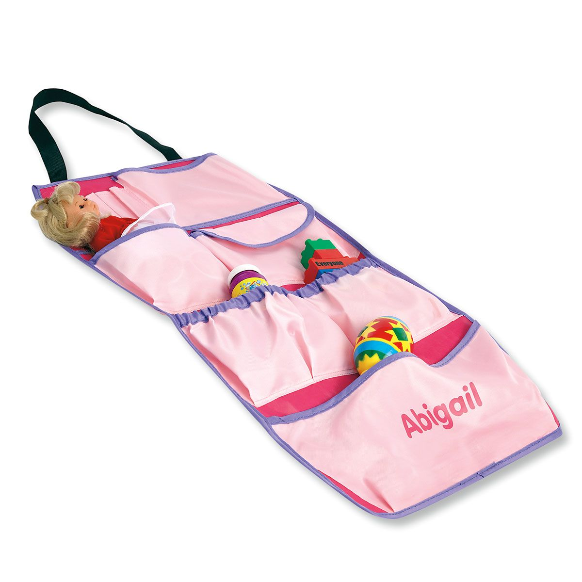 Over-The-Seat Car Organizer-Pastel-044858