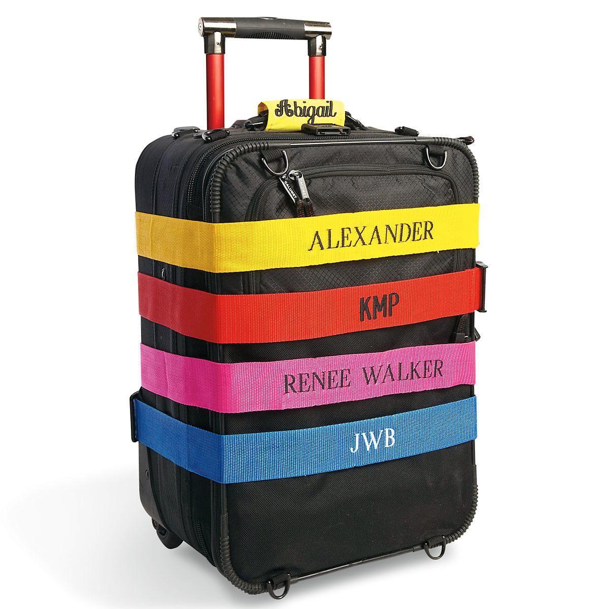 Personalized Luggage Straps Lillian Vernon