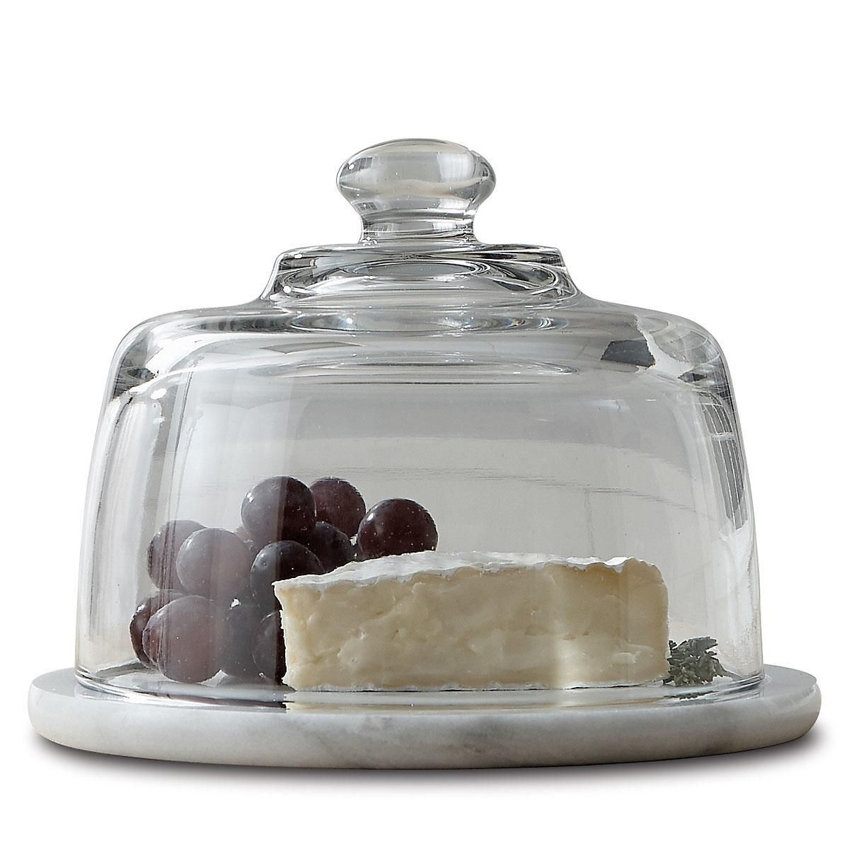 Marble Domed Cheese Server