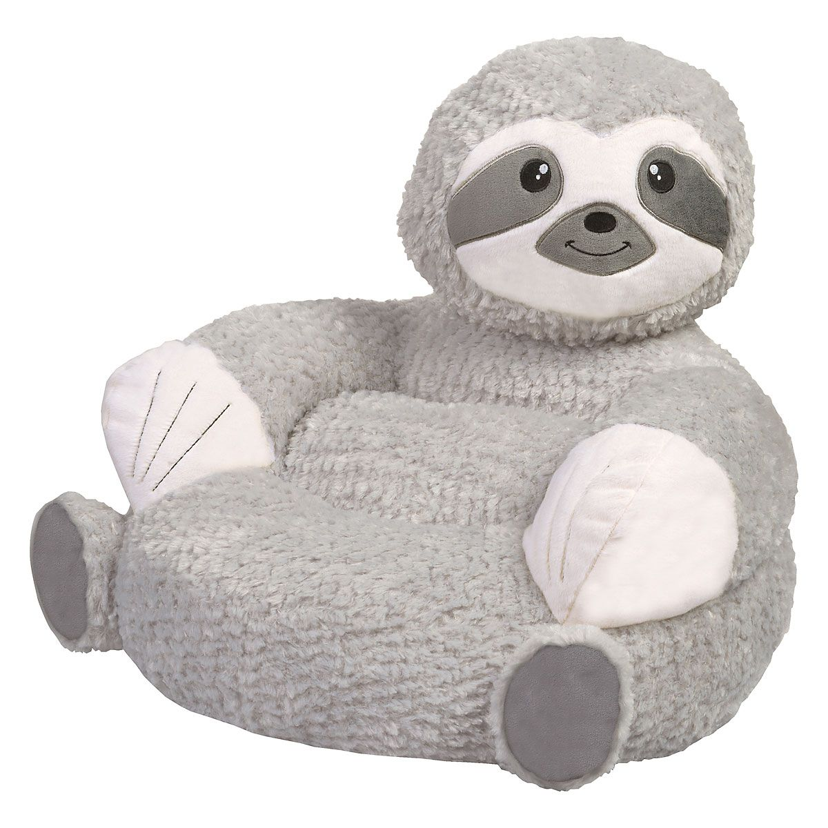 Children's Sloth Plush Character Chair
