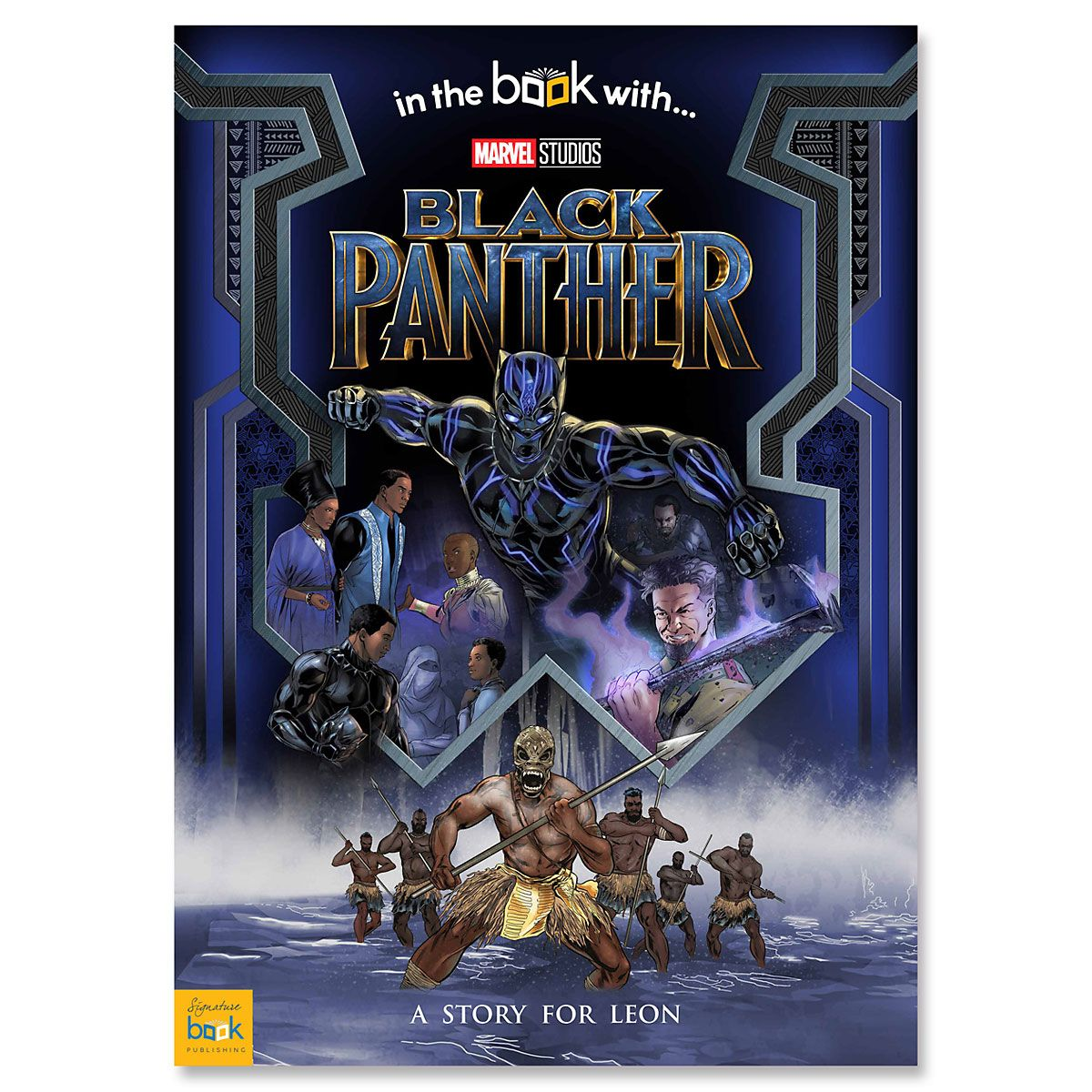 Marvel Studios Black Panther Personalized Storybook