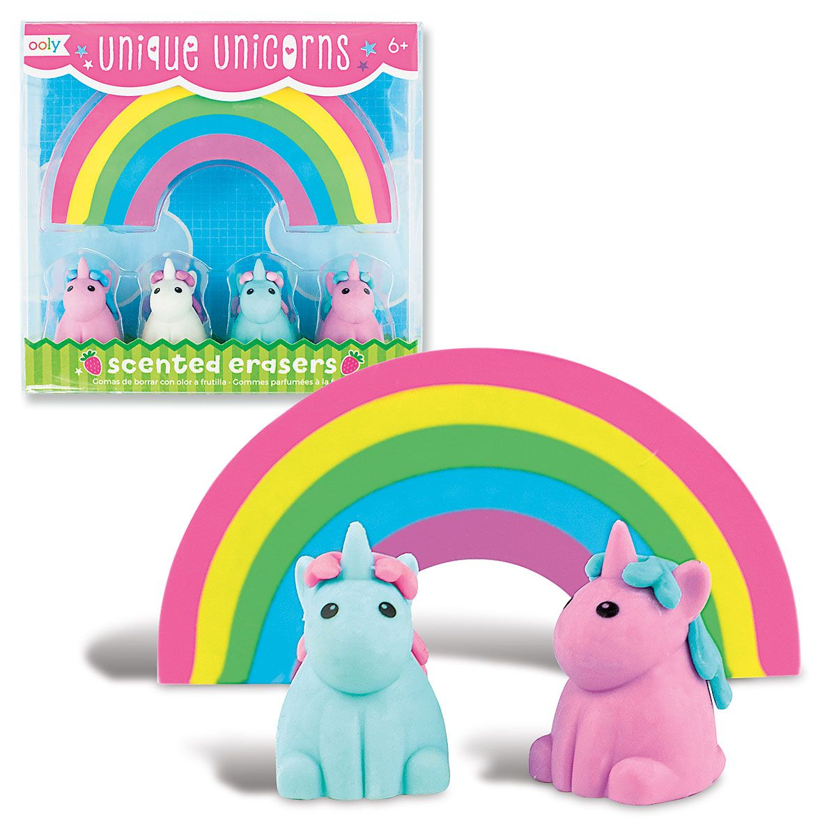 Unicorn Scented Erasers