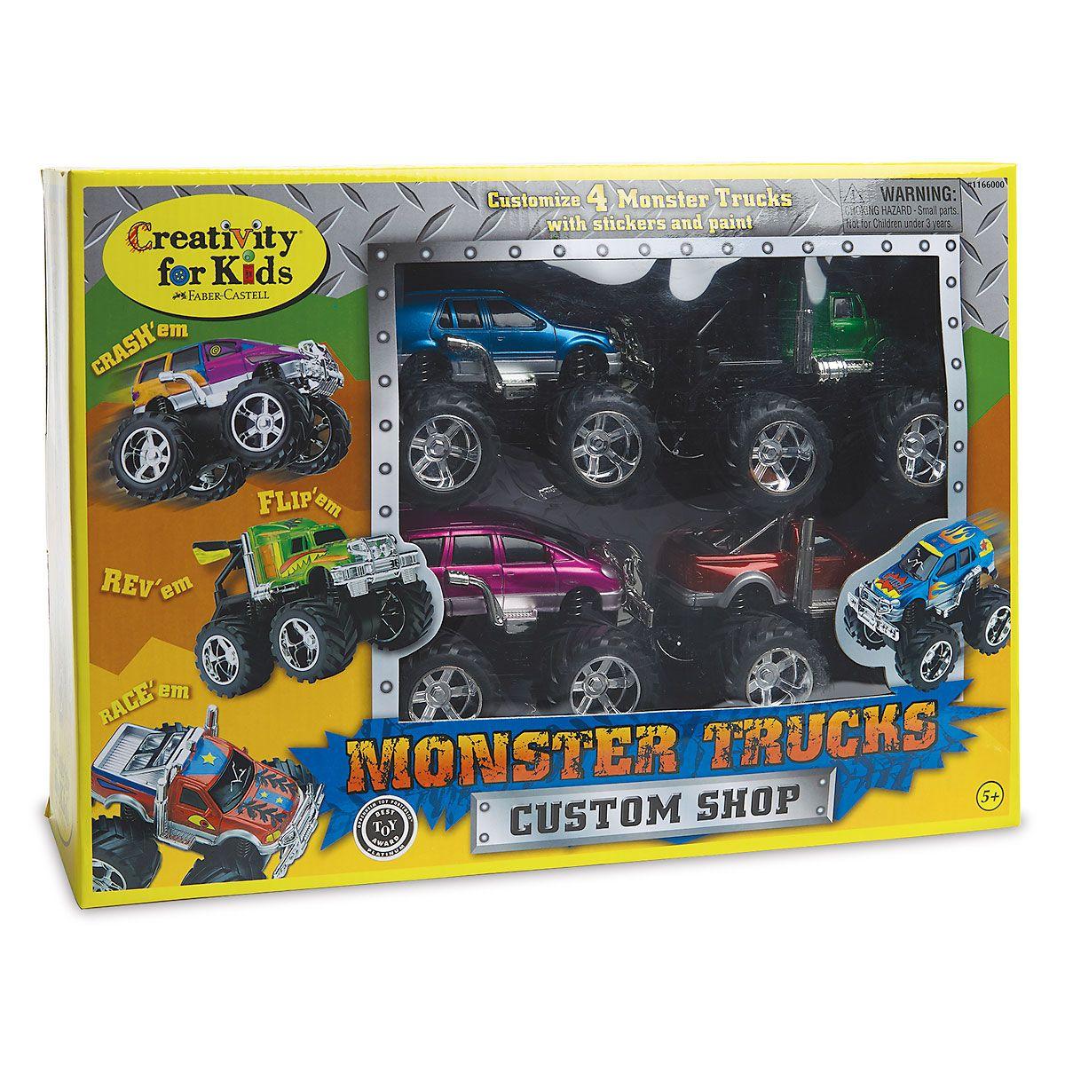 Monster Truck Custom Shop