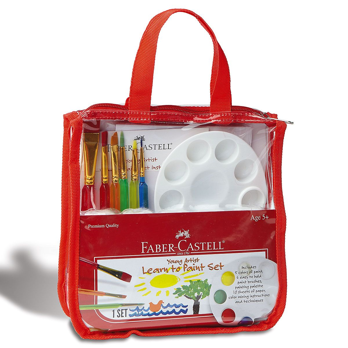 Faber Castell® Learn-to-Paint Set