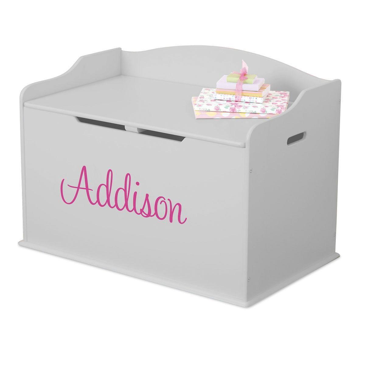 KidKraft® Austin Gray Fog Toy Box