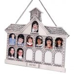 Silver Finish Schoolhouse Frame