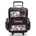 Black Camo Rolling Luggage