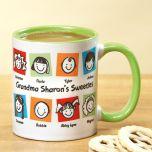 Grandma's Cuties Mug