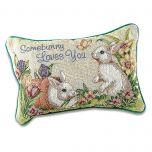 Somebunny Loves You Pillow