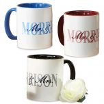 Mr. and Mrs. Personalized Mug