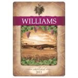 Tuscany Wine Personalized Glass Cutting Board