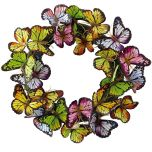 Flutter Butterflies Wreath