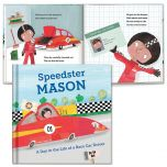 A Day in the Life of A Race Car Driver Personalized Storybook