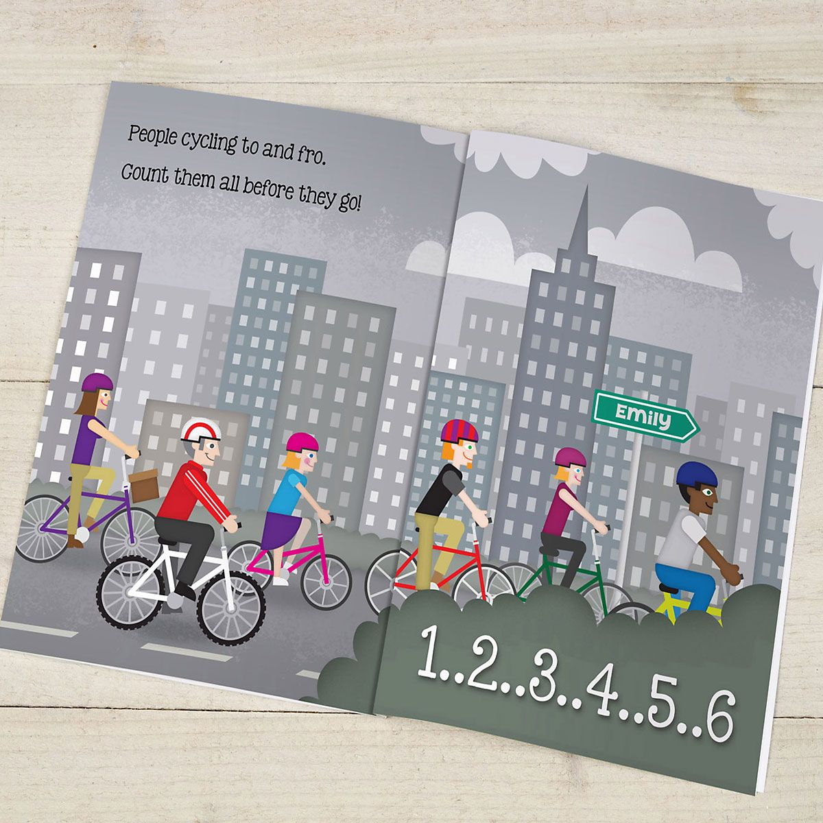 A Counting Birthday Personalized Storybook