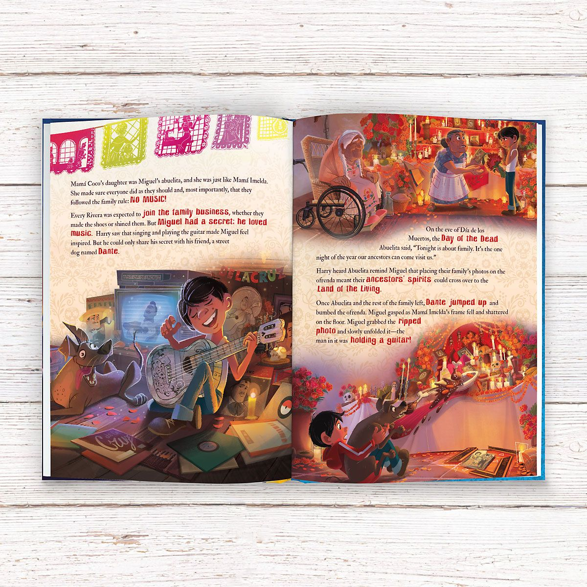 Pixar Coco Personalized Storybook