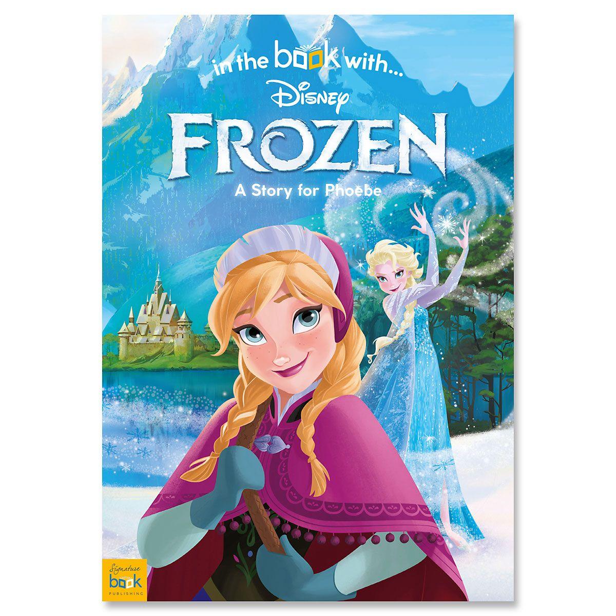 Disney Frozen Personalized Storybook