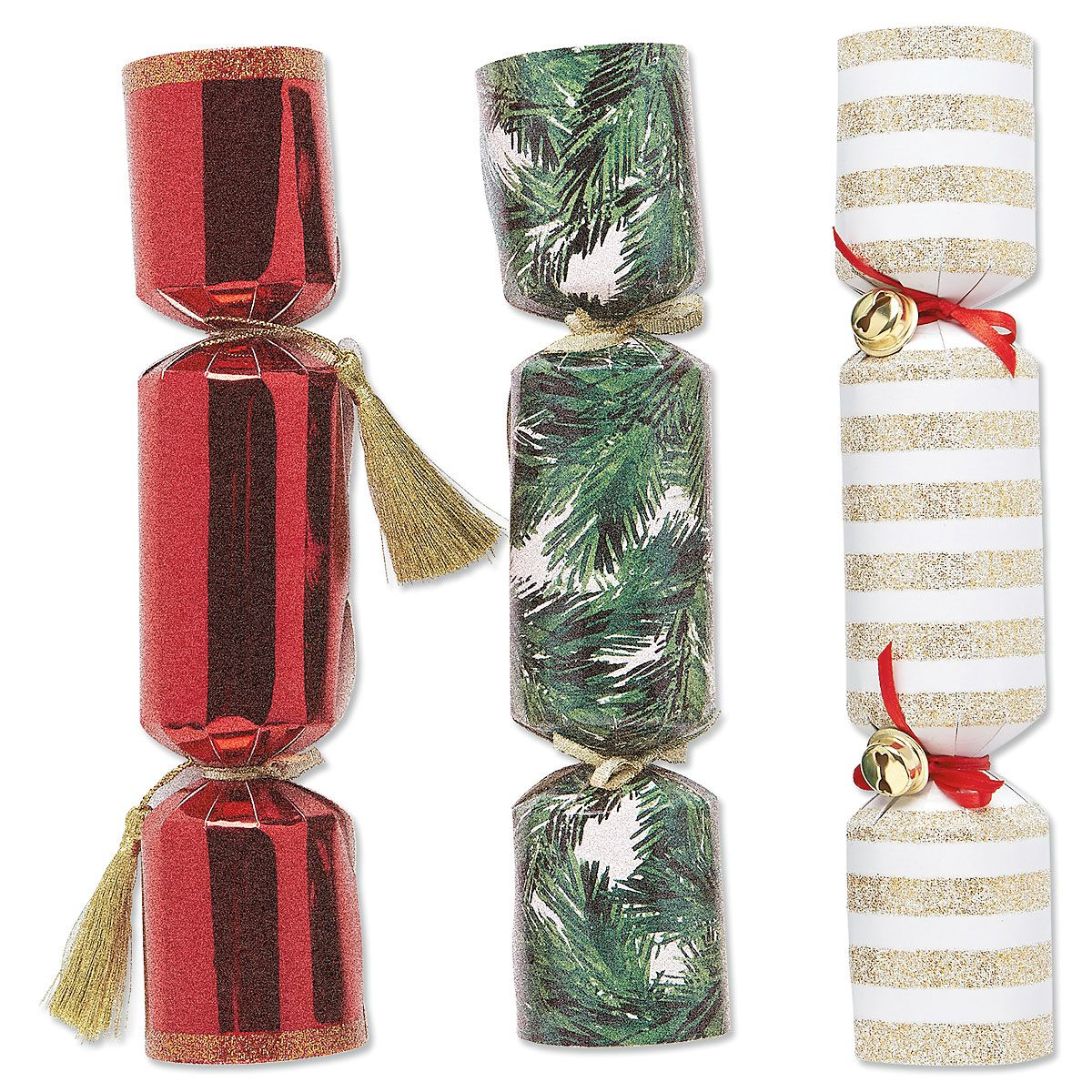 Holiday Glam Confetti Crackers