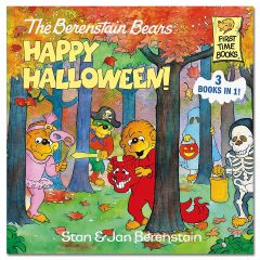 berenstain bears happy halloween 3 books in 1