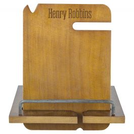 Wooden Docking Station Personalized  - Name