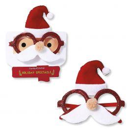 Holiday Santa Novelty Glasses
