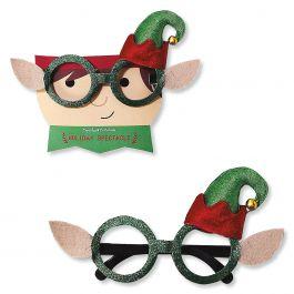 Holiday Elf Novelty Glasses