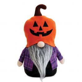 Jack-o'-Lantern Halloween Gnome