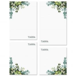 Olive Bloom Notepads