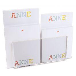 Alphabet Notepad Set & Acrylic Holder