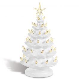 Points Vintage Light-Up Christmas Tree
