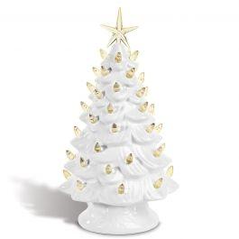 Bristles Vintage Light-Up Christmas Tree