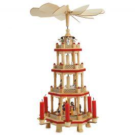 Christmas Carousel Pyramid