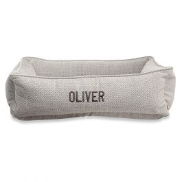 Medium Lounger Silver Treats Dog Bed by Bowsers Pet Products