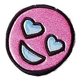 Puffy Glitter Heart Eyes Sticker Patch from Stoney Clover Lane