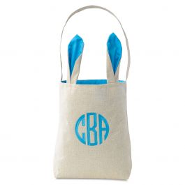 Blue Easter Tote with Ears