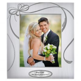 Personalized Ribbons Picture Frame - 13 x 11