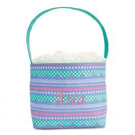 Loopty Fabric Easter Bucket - Name