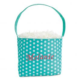 Bloom Fabric Easter Bucket - Name
