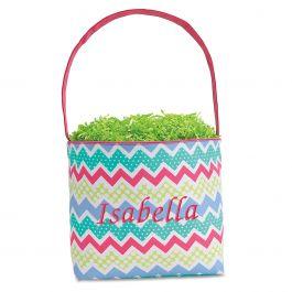 Zagmag Fabric Easter Bucket - Name