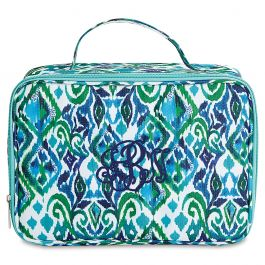 Personalized Blue Diamond Lunch Bag – Monogram