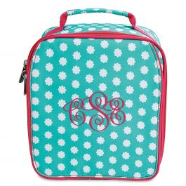 Personalized Hadley Bloom Lunch Bag  – Monogram