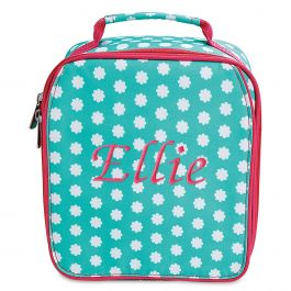 Personalized Hadley Bloom Lunch Bag  – Name